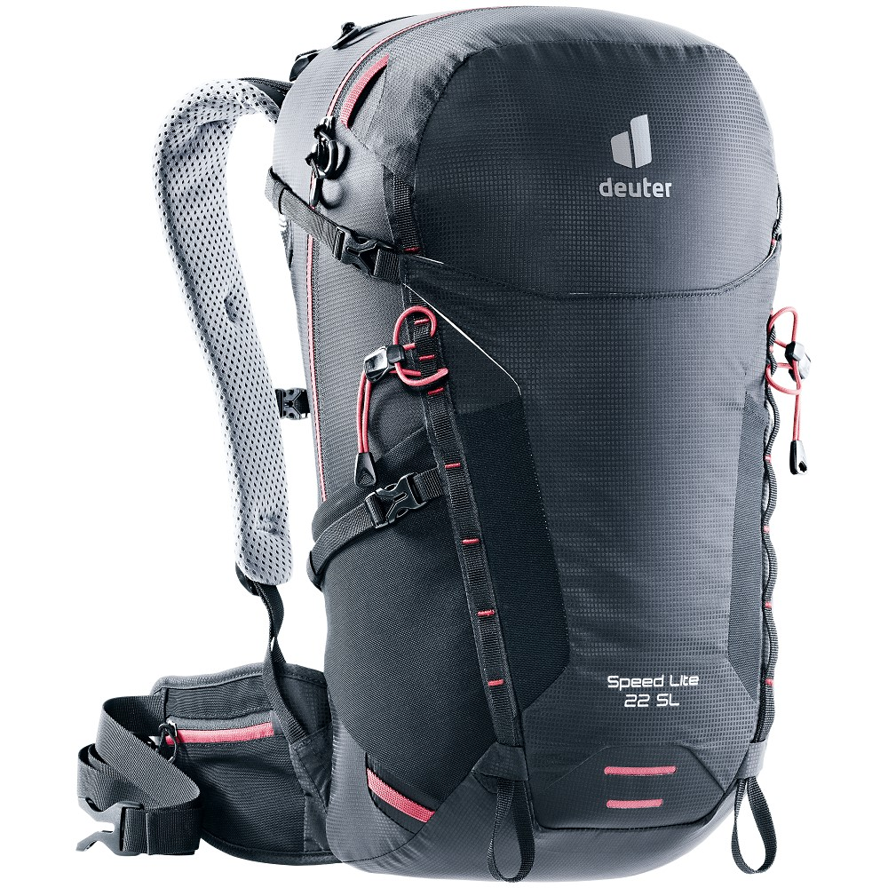 Turistický batoh Deuter Speed Lite 22 SL Black
