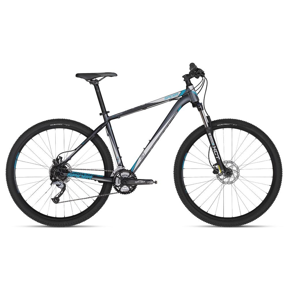 """Horský bicykel KELLYS SPIDER 30 29"""" - model 2018 Grey - S - Záruka 10 rokov"""