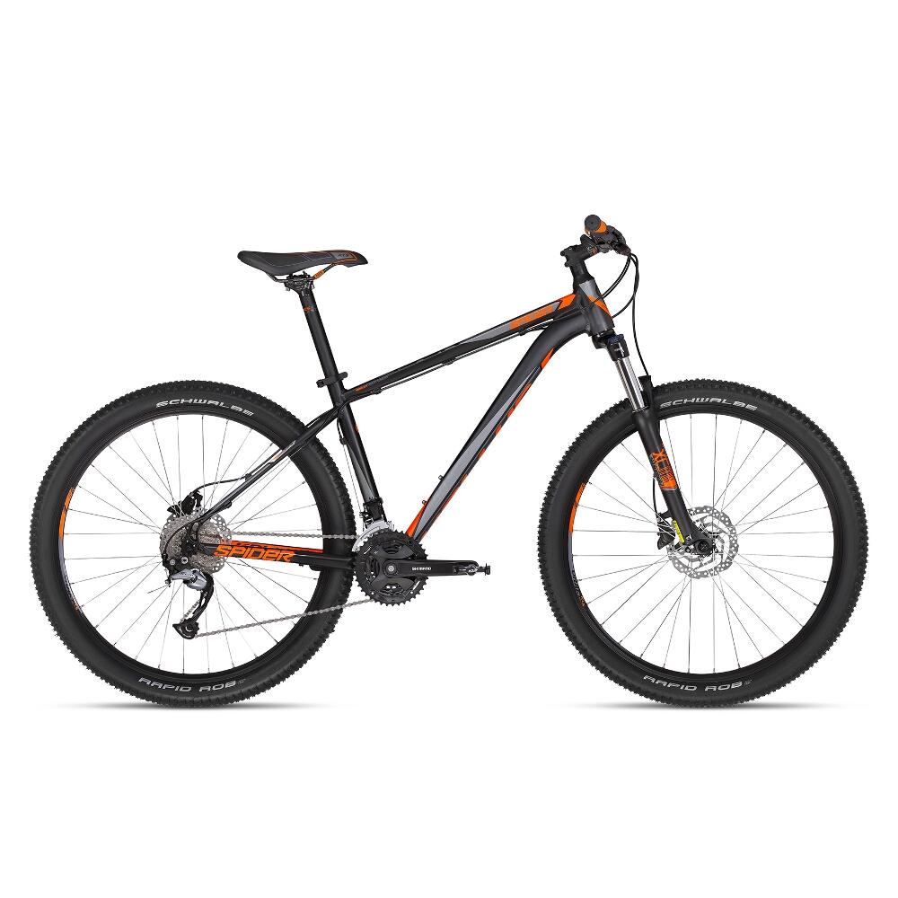 """Horský bicykel KELLYS SPIDER 50 27,5"""" - model 2018 S - Záruka 10 rokov"""