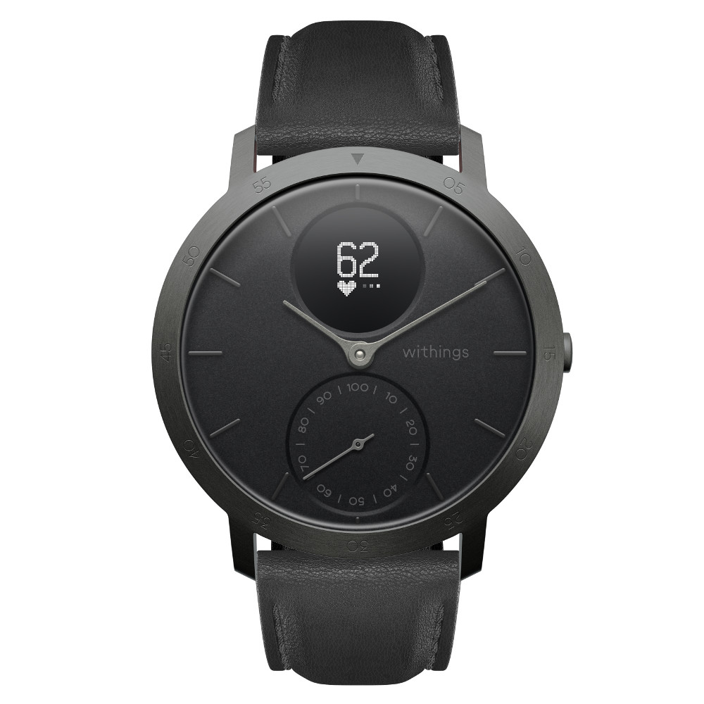 Inteligentné hodinky Withings Steel HR (40 mm) Slate GreyBlack