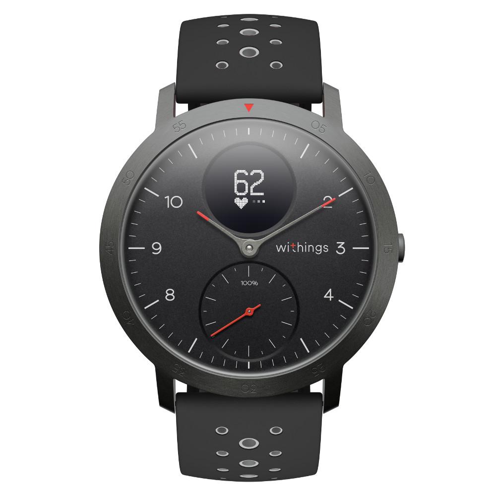 Inteligentné hodinky Withings Steel HR Sport (40 mm) čierna