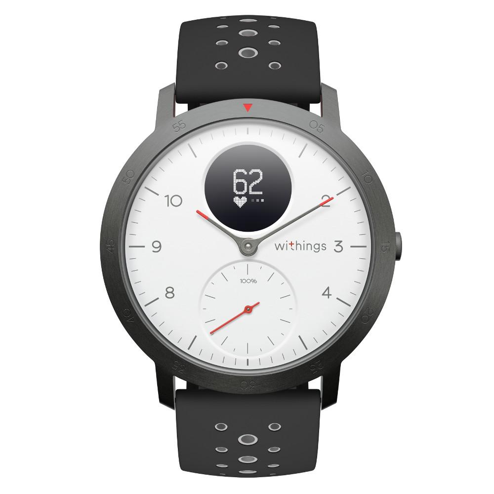 Inteligentné hodinky Withings Steel HR Sport (40 mm) biela