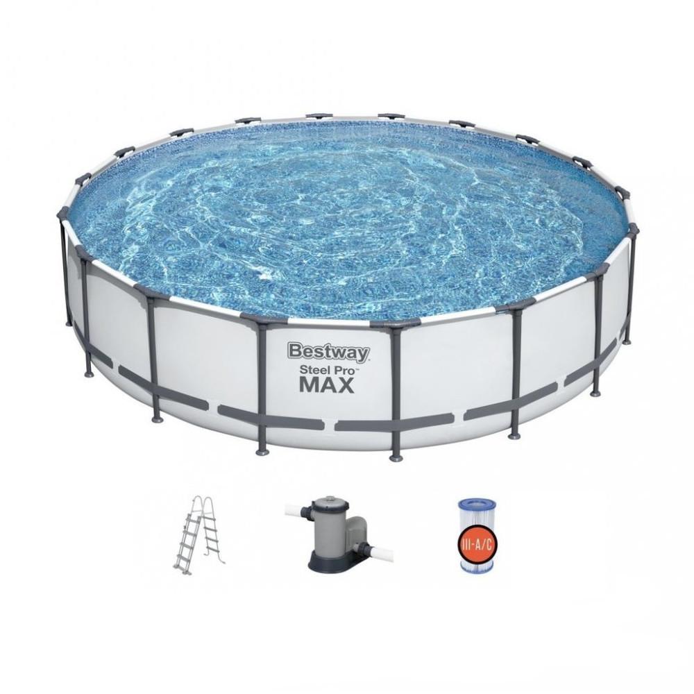 Bazén Bestway Steel Pro Max 549 x 122 cm s filtráciou