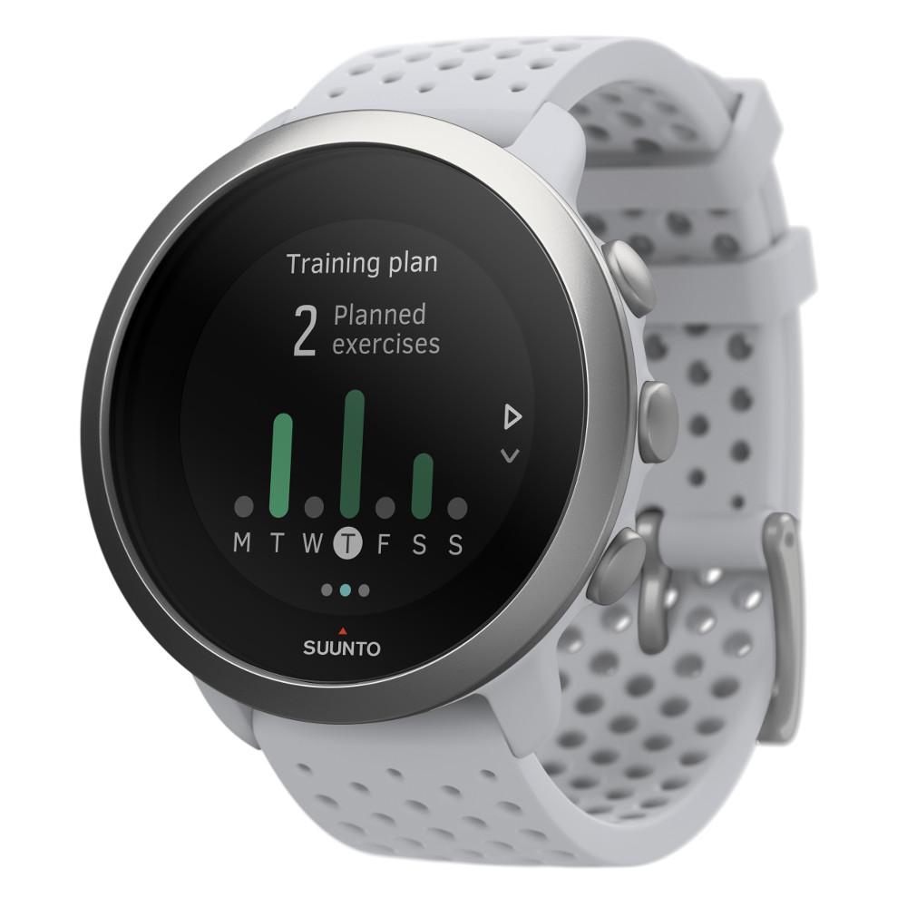 Športové hodinky Suunto 3 Pebble White