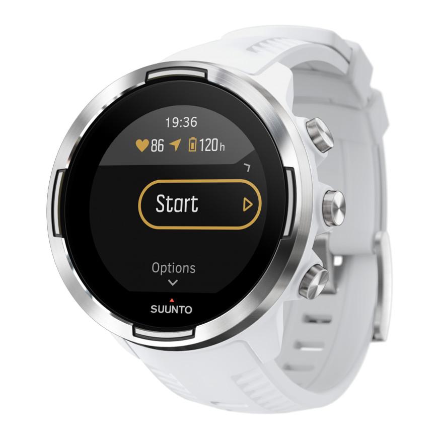 Športové hodinky SUUNTO 9 Baro White