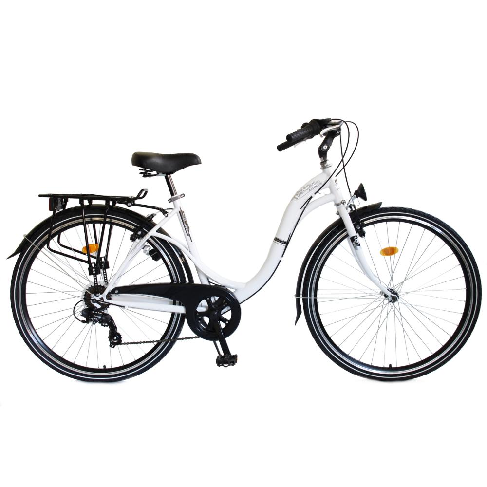 """Mestský bicykel Reactor Swan 28"""" - model 2018 biela"""