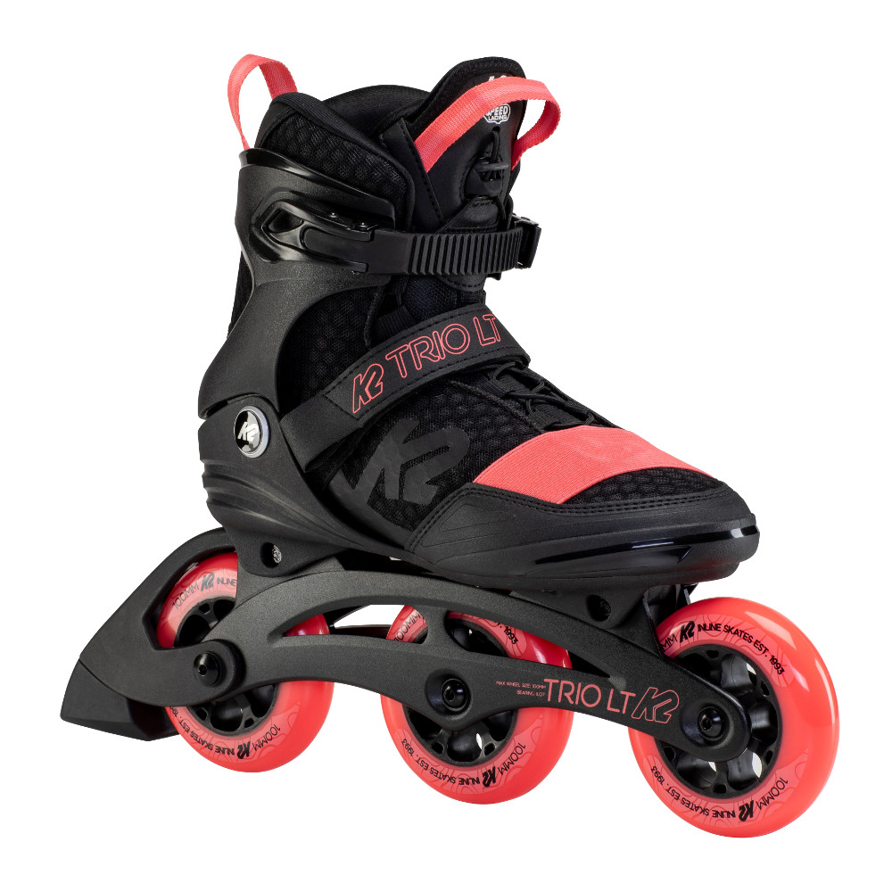 Dámske kolieskové korčule K2 Trio LT 100 W 2021