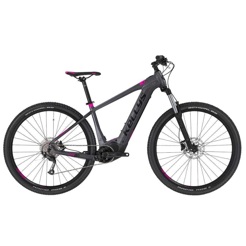 """Dámsky horský elektrobicykel KELLYS TAYEN 10 29"""" - model 2020 Grey - M - Záruka 10 rokov"""