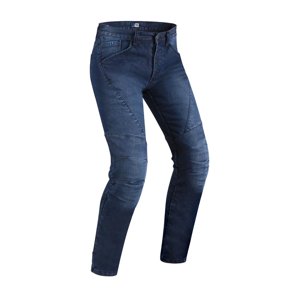 Pánske moto jeansy PMJ Titanium CE modrá - 30