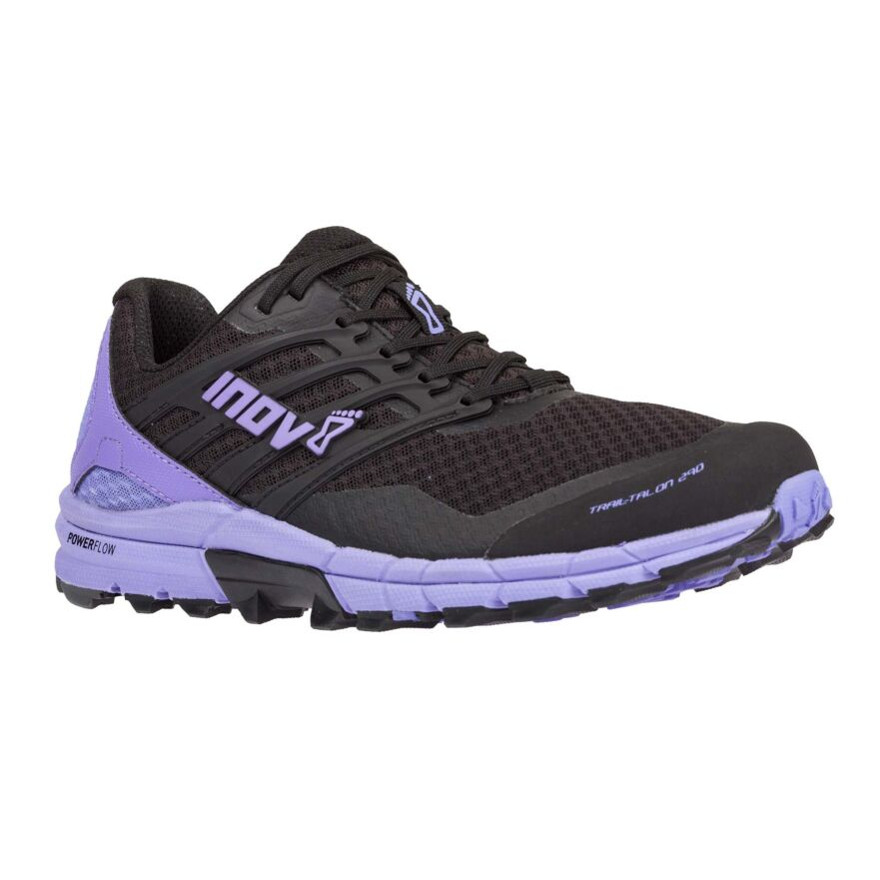 Dámske trailové topánky Inov-8 Trail Talon 290 (S) Black/Purple - 38