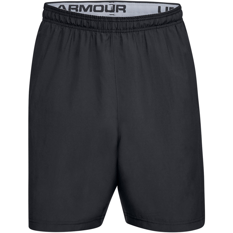 Pánske šortky Under Armour Woven Graphic Wordmark Short Black - XL