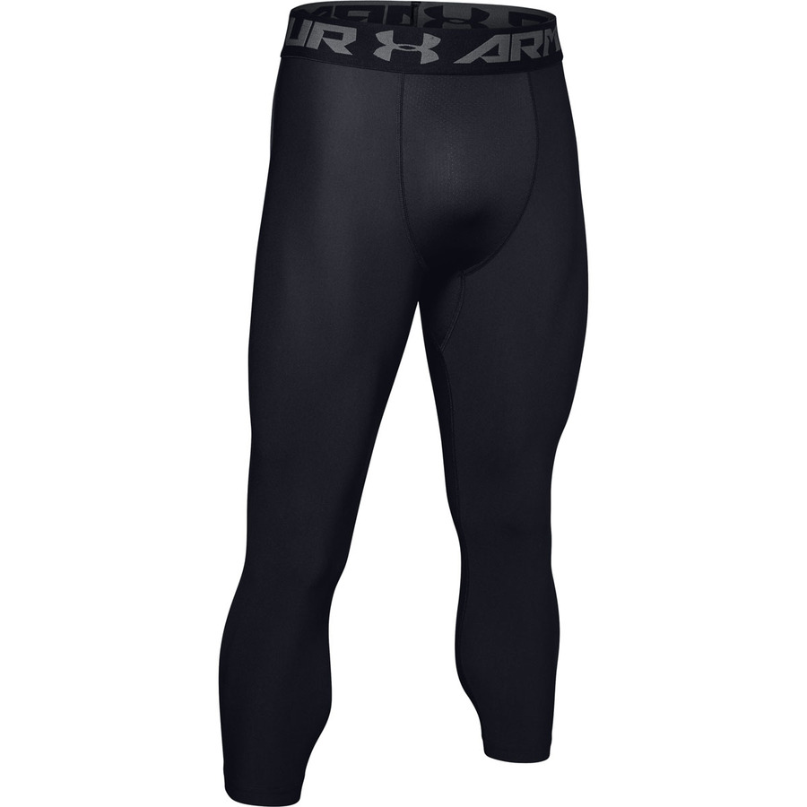 Pánske kompresné legíny Under Armour HG Armour 2.0 3/4 Legging Black - S