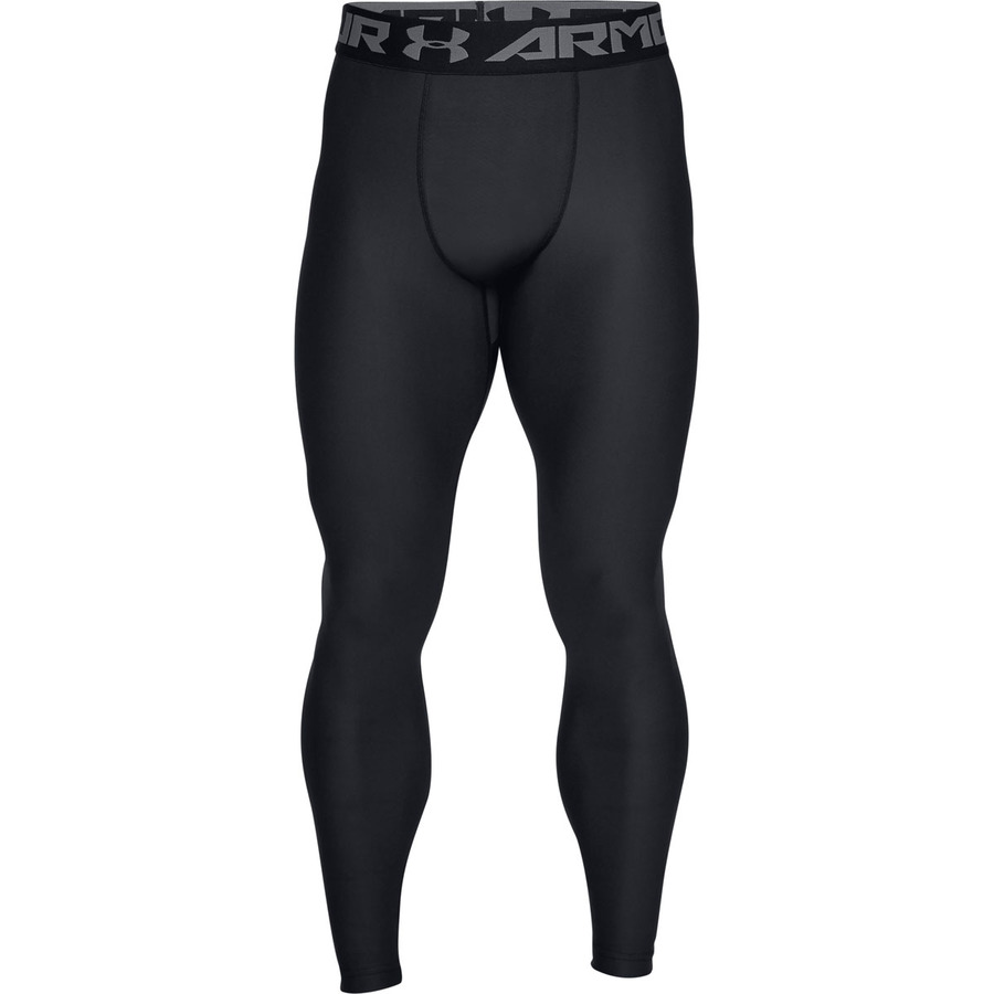 Pánske kompresné legíny Under Armour HG Armour 2.0 Legging Black - S