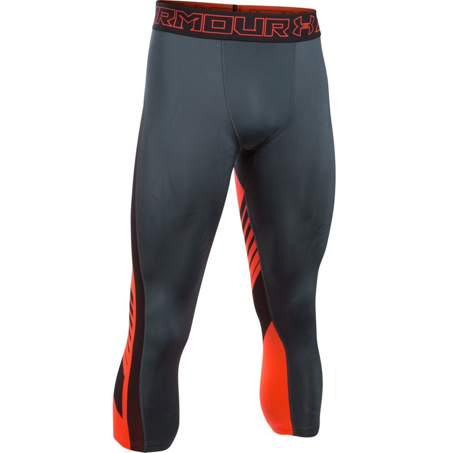 Pánske kompresné legíny Under Armour HG SuperVent 2.0 3/4 Legging 008 - S