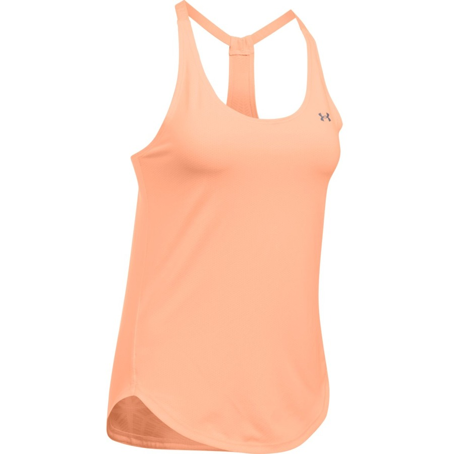 Dámske tielko Under Armour HG Armour Coolswitch Tank Pink - XS