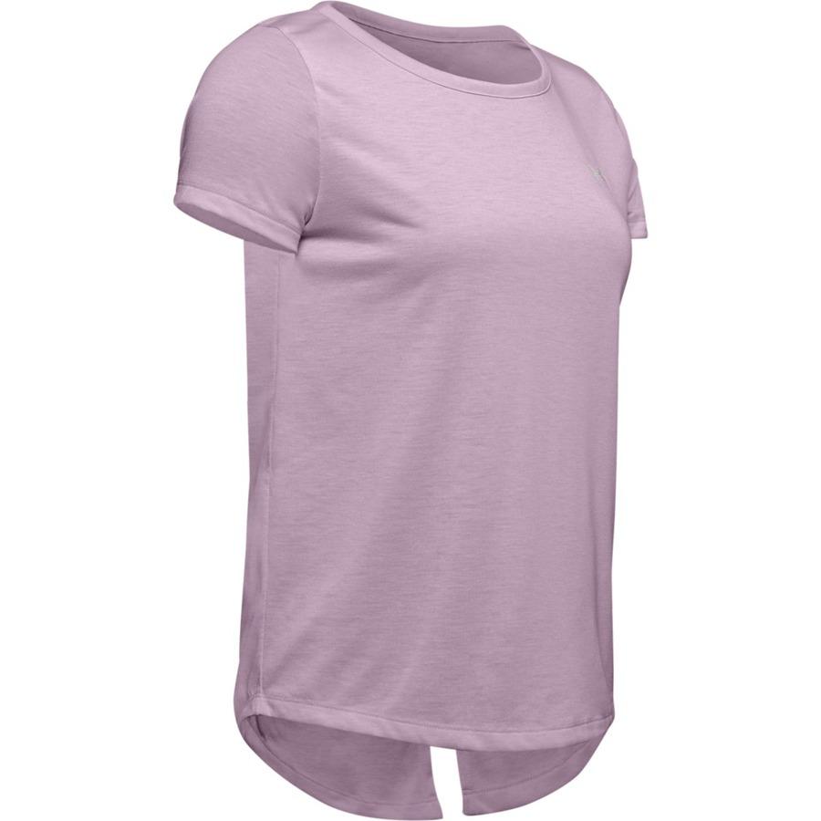 Dámske tričko Under Armour Whisperlight SS Pink Fog - XS