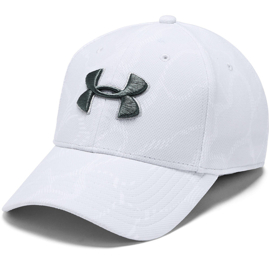 Šiltovka Under Armour Men's Printed Blitzing 3.0 Halo Gray - M/L (55-58)