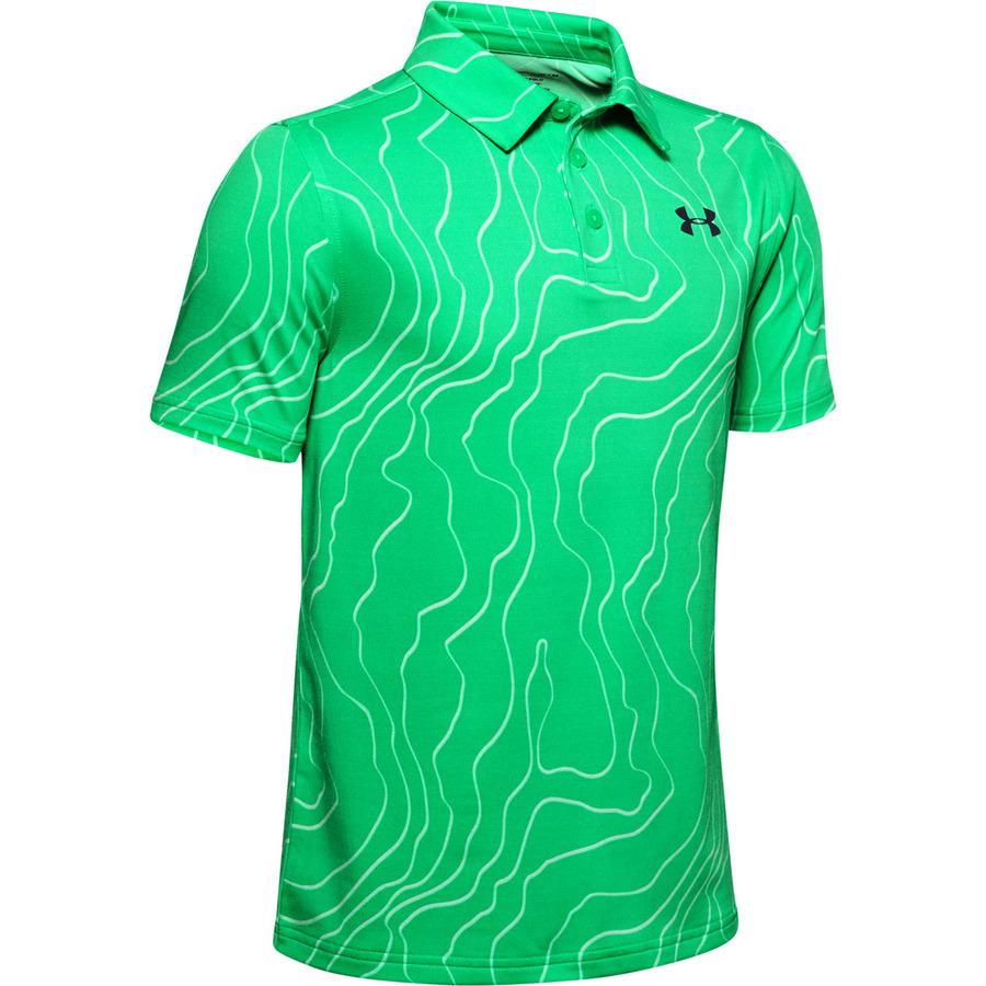 Chlapčenské tričko Under Armour Playoff Polo Vapor Green - YM