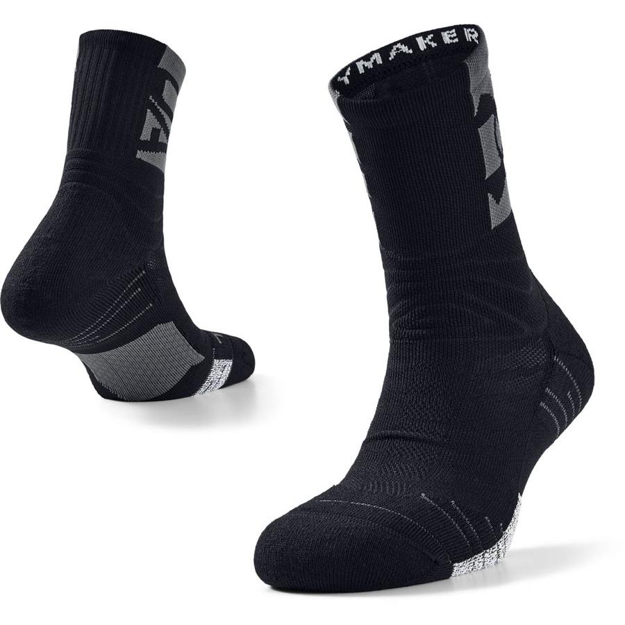 Unisex ponožky Under Armour Playmaker Crew Black - L (41-46)