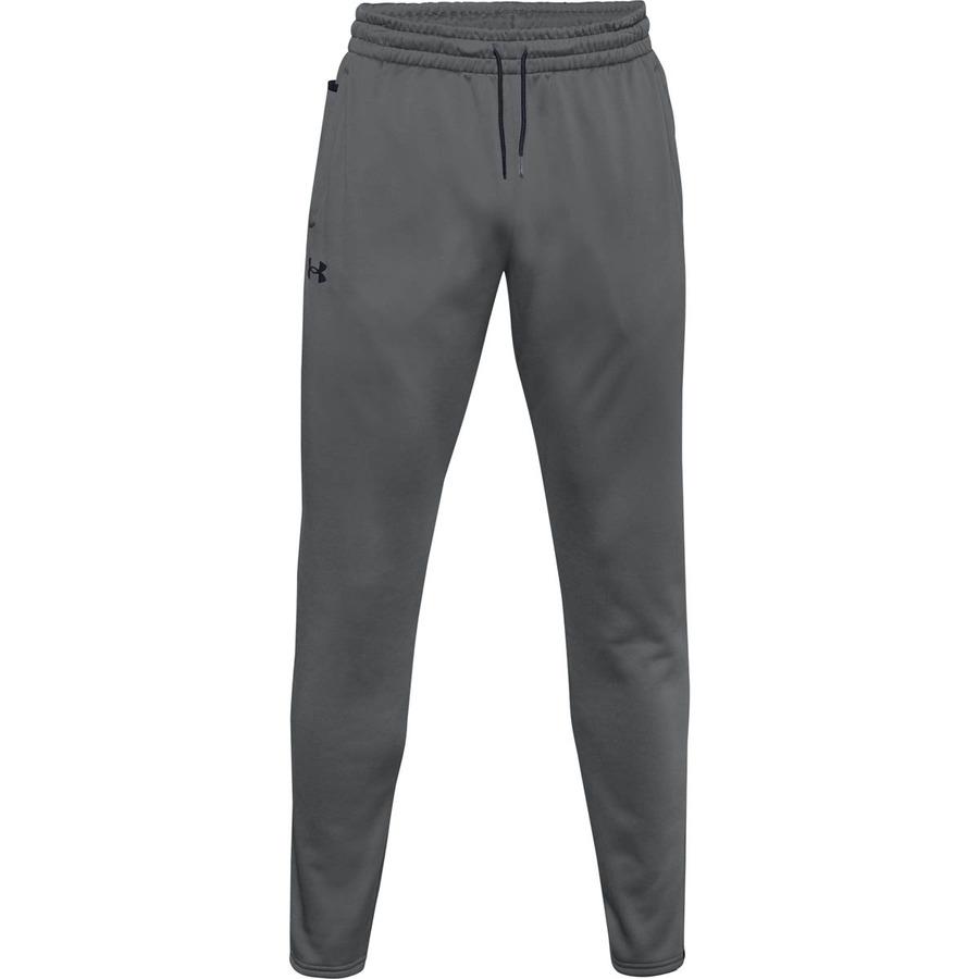 Pánske tepláky Under Armour Fleece Pants Pitch Gray - S