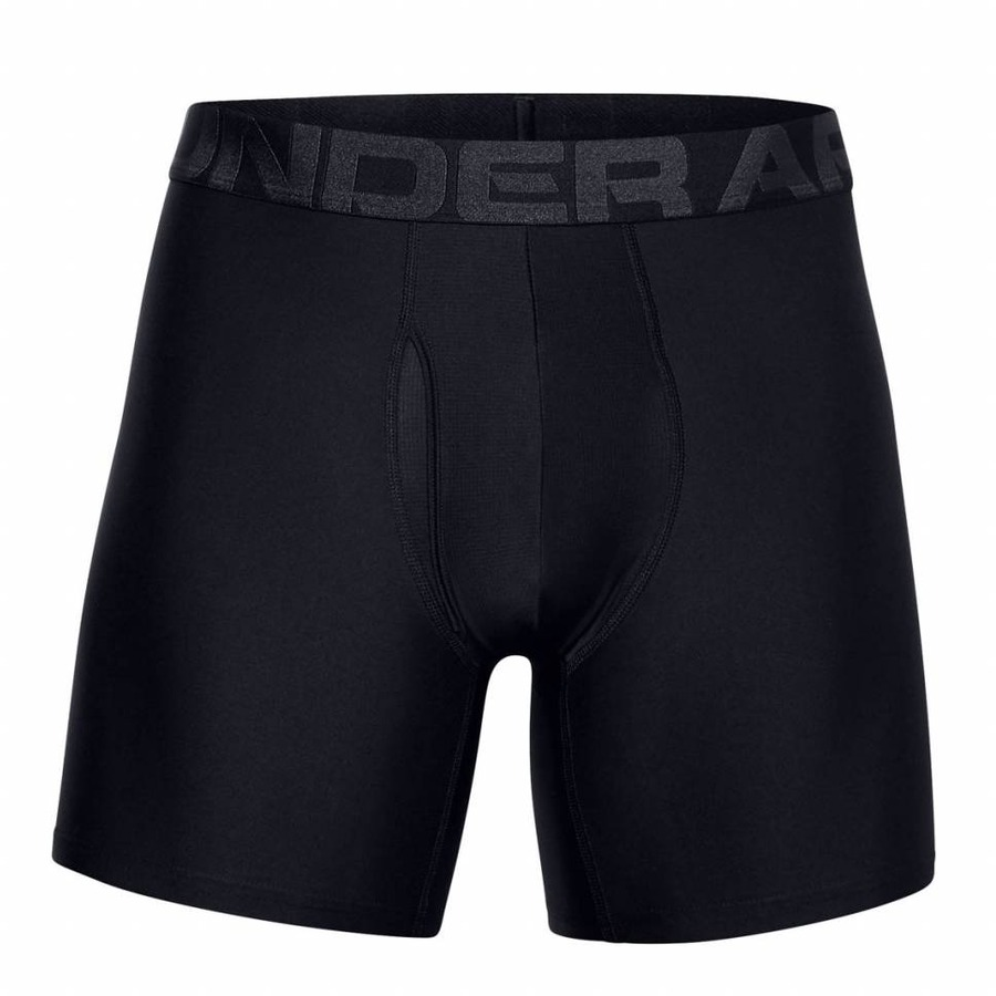 Pánske boxerky Under Armour UA Tech 6in 2 páry Black - XL