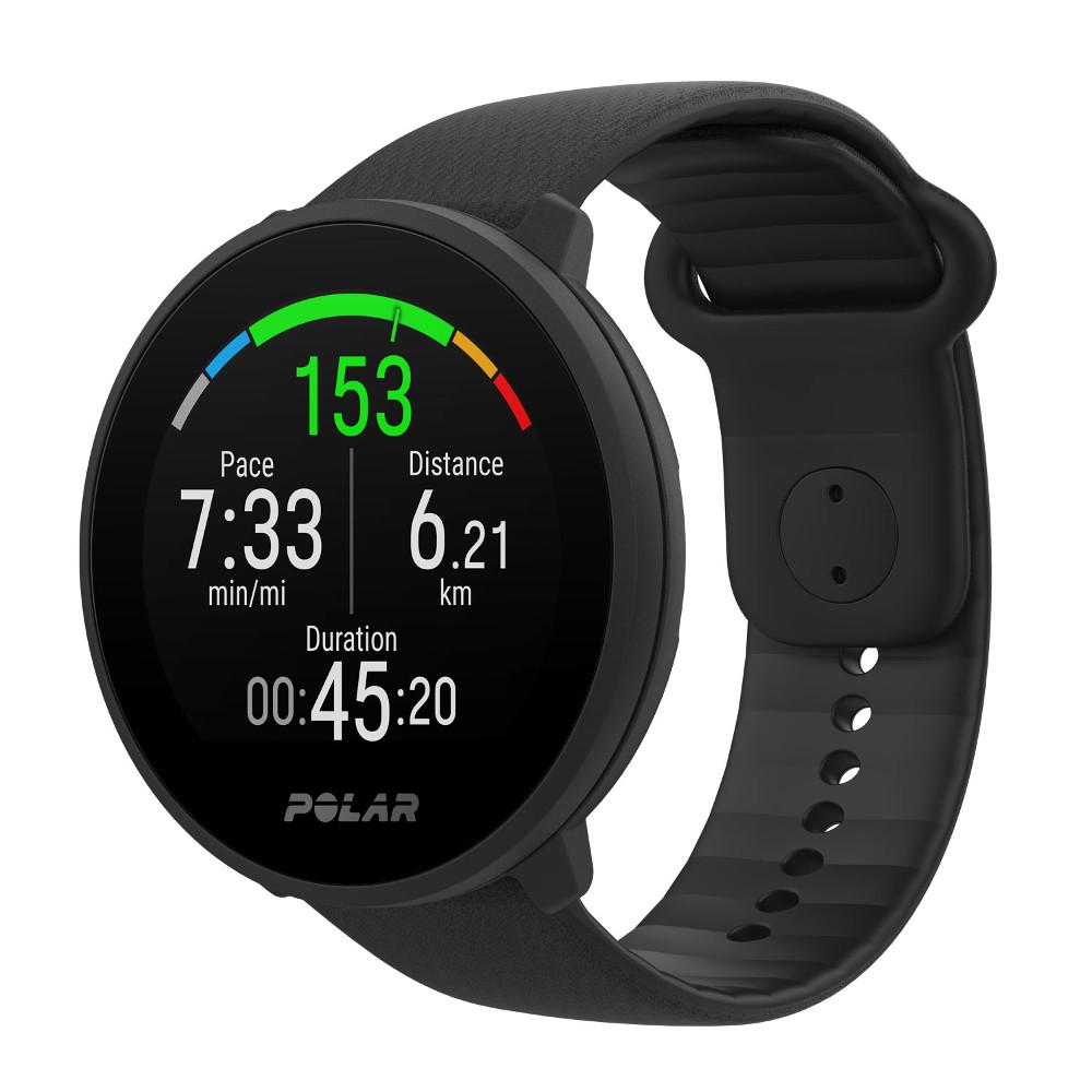 Športové hodinky Polar Unite čierna S-L