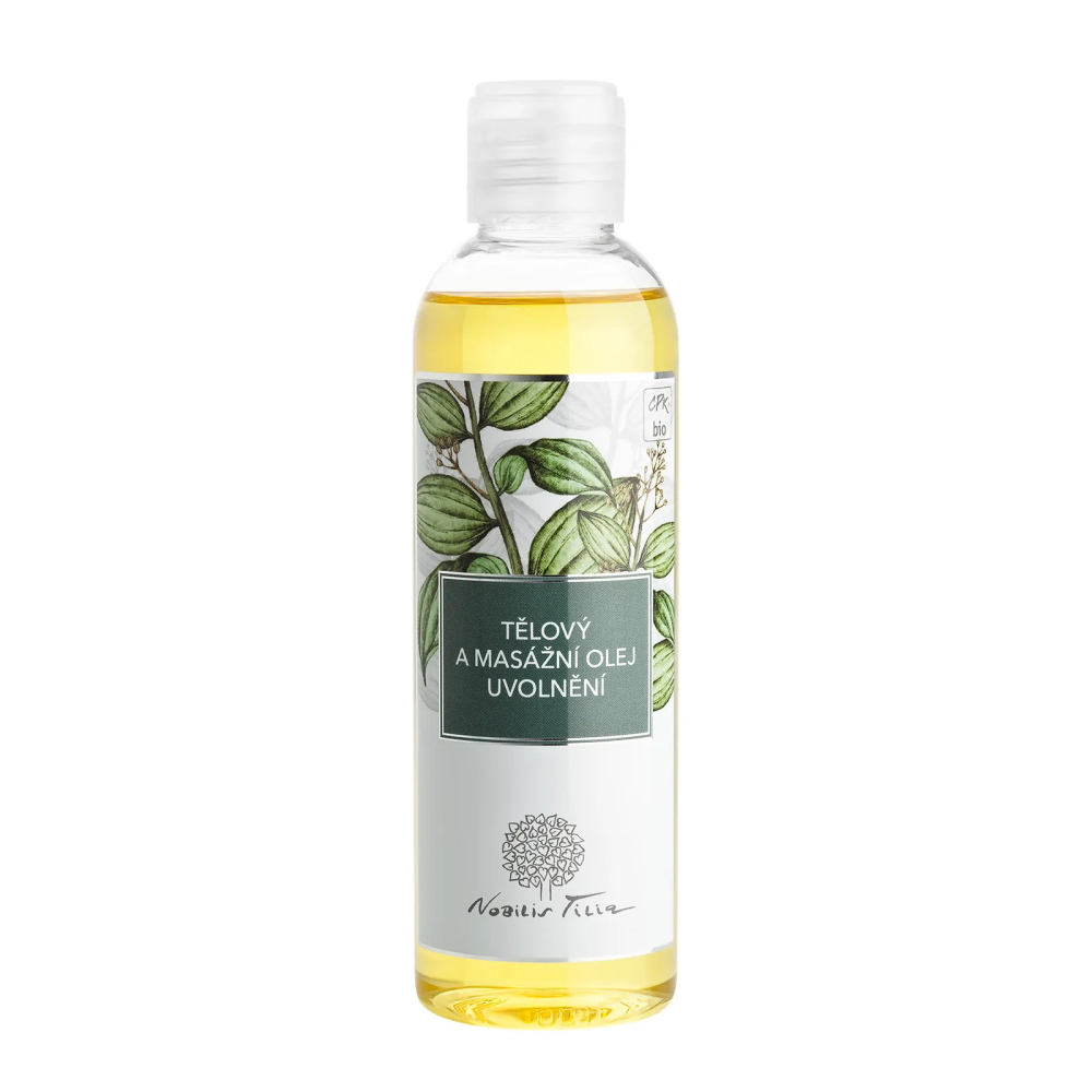 Telový a masážny olej Nobilis Tilia Uvolnenie 200 ml