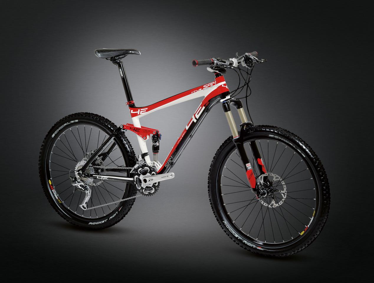 Celoodpružený bicykel 4EVER Virus SAM 1