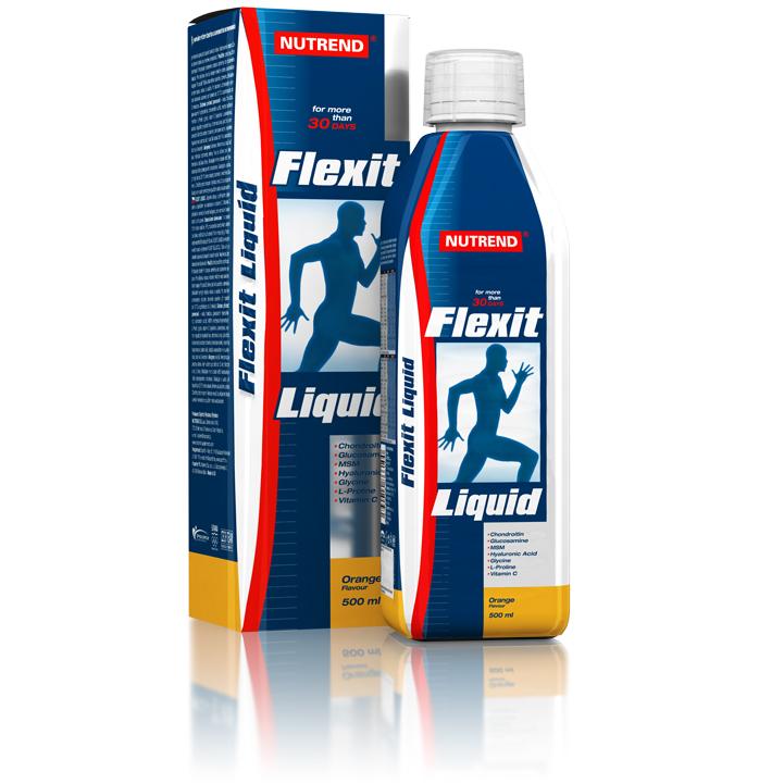 Kĺbová výživa Nutrend Flexit Liquid 500 ml citrón