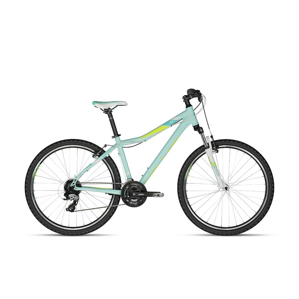 "Dámsky horský bicykel KELLYS VANITY 20 27,5"" - model 2018 Aqua Lime - 17"" - Záruka 10 rokov"