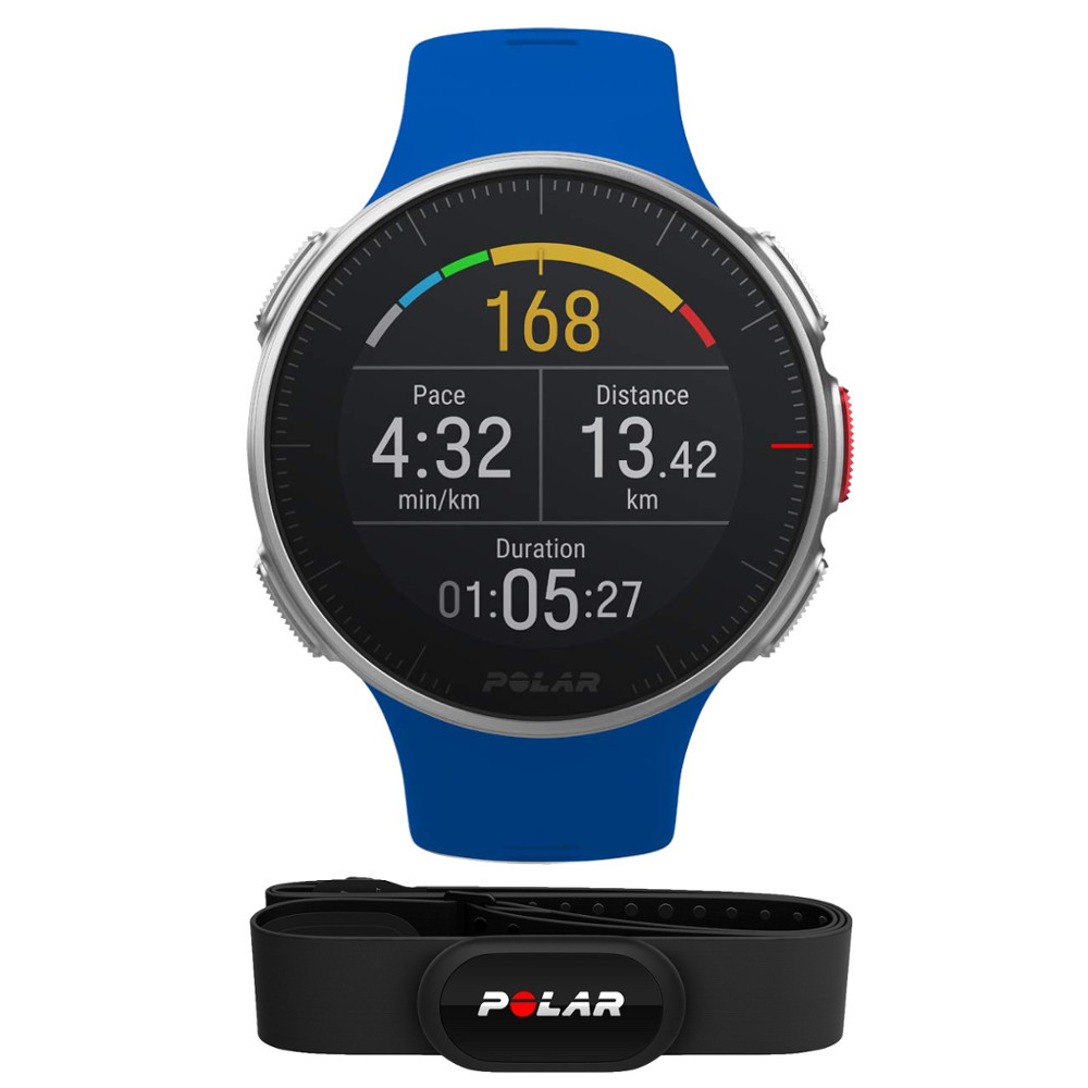 Športové hodinky POLAR Vantage V HR modrá