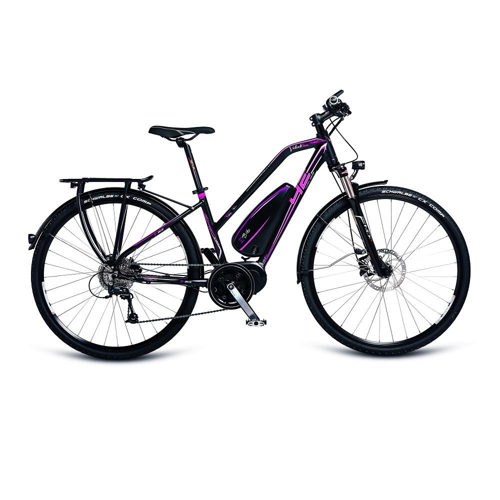 Dámsky trekingový elektrobicykel 4EVER Velvetline AL E-Trekk - model 2017