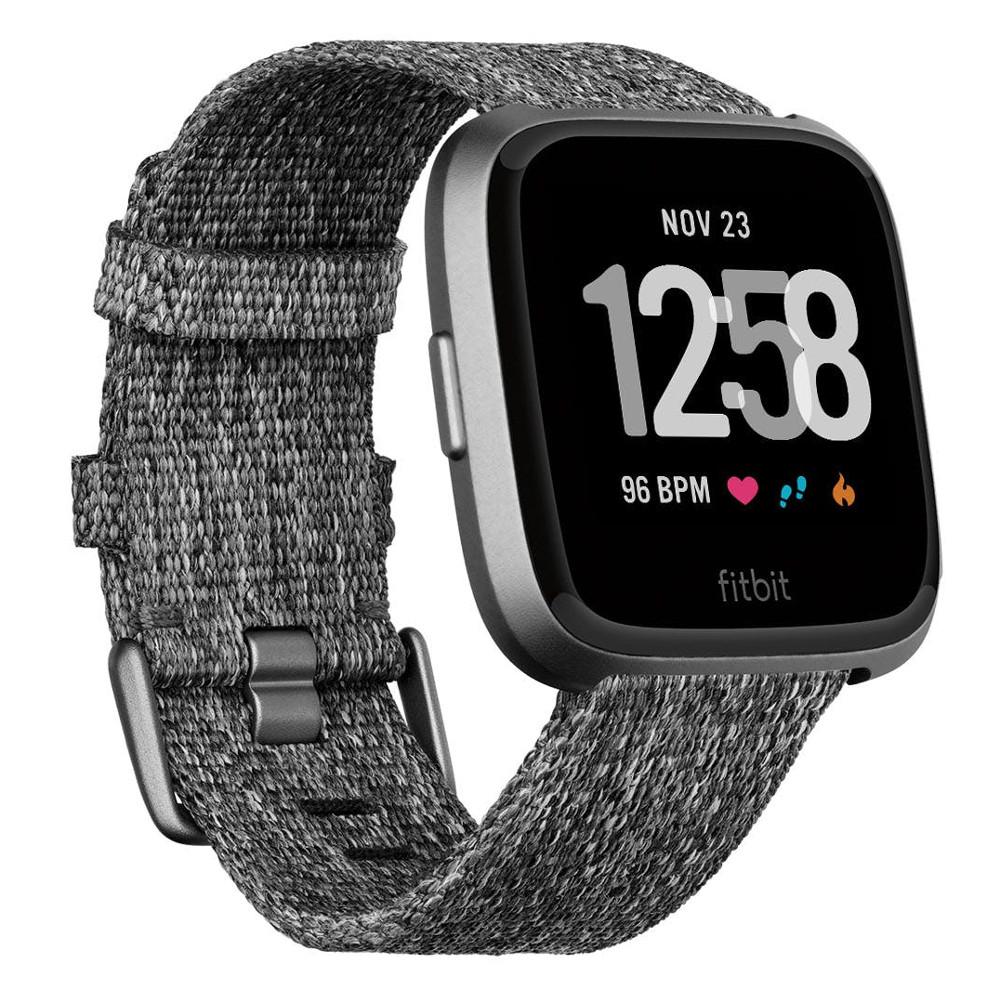 Inteligentné hodinky FITBIT Versa Charcoal Woven