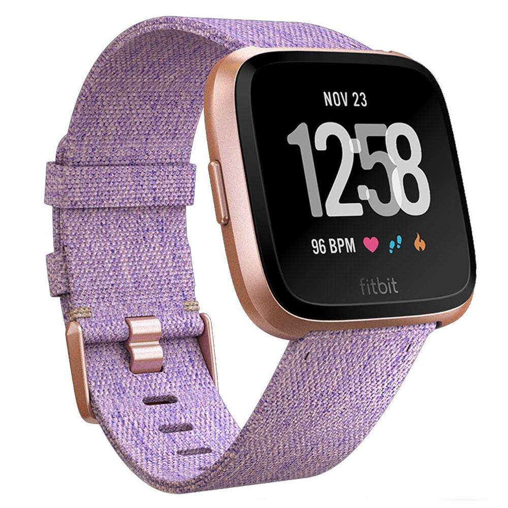 Inteligentné hodinky Fitbit Versa Lavender Woven