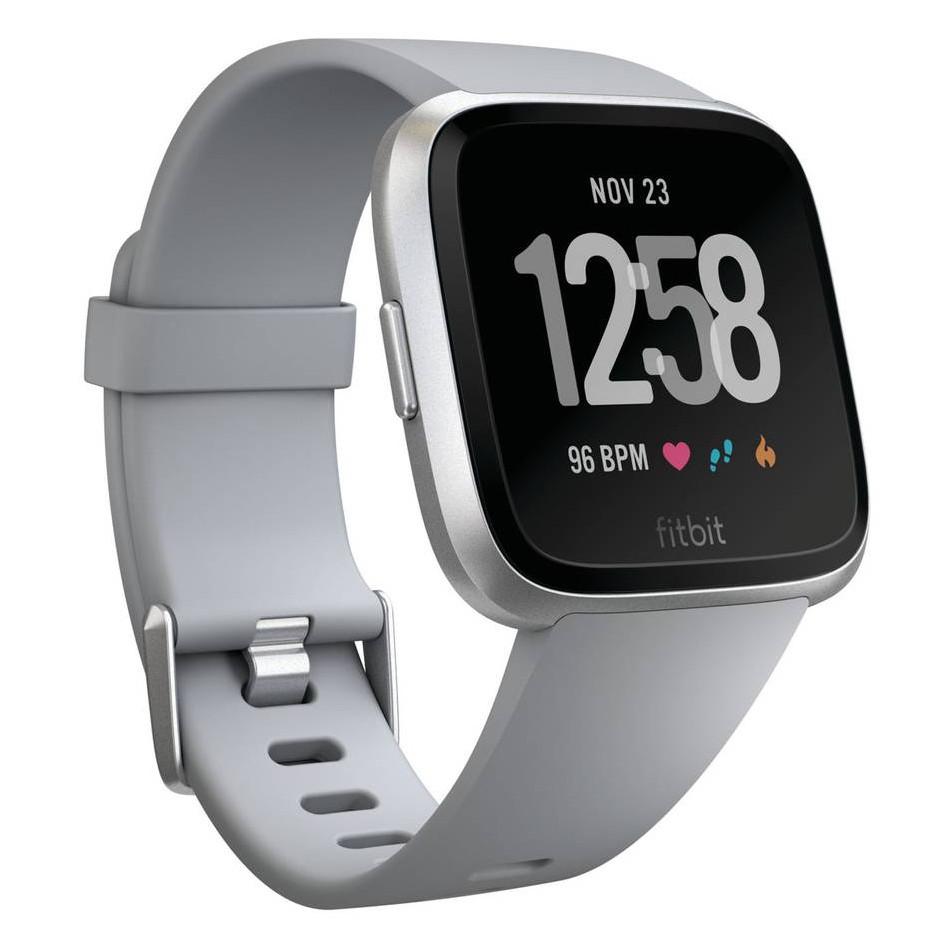 Inteligentné hodinky Fitbit Versa Gray/Silver Aluminum