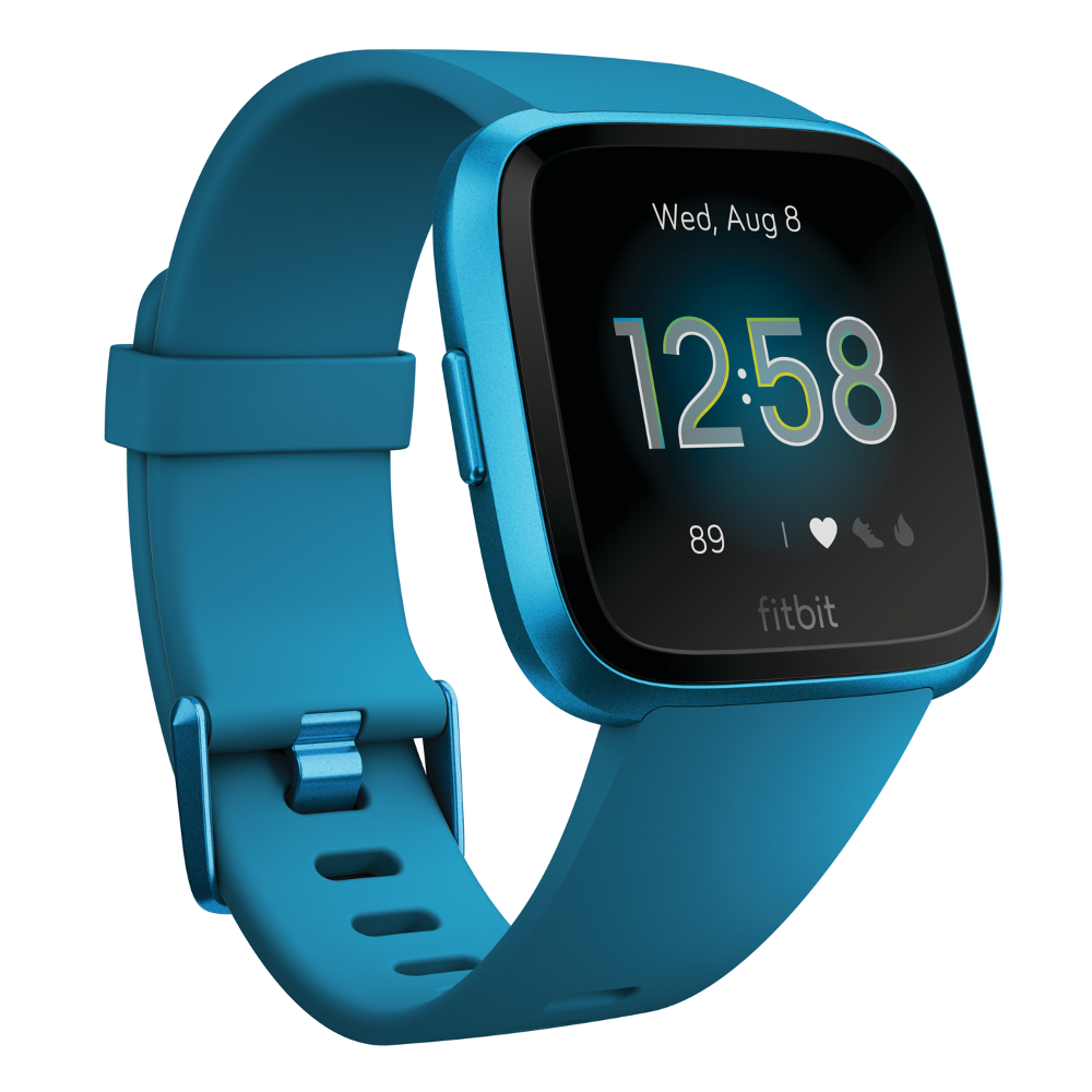 Inteligentné hodinky Fitbit Versa Lite Marina Blue/Marina Blue Aluminum