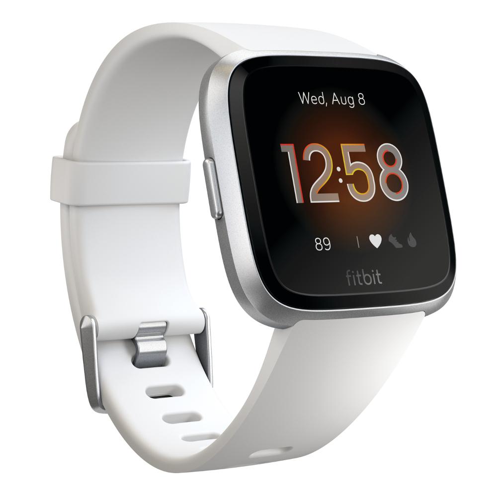 Inteligentné hodinky Fitbit Versa Lite White/Silver Aluminum