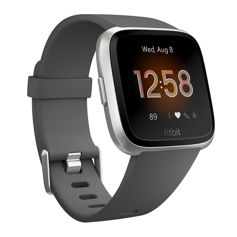 Inteligentné hodinky Fitbit Versa Lite Charcoal/Silver Aluminum