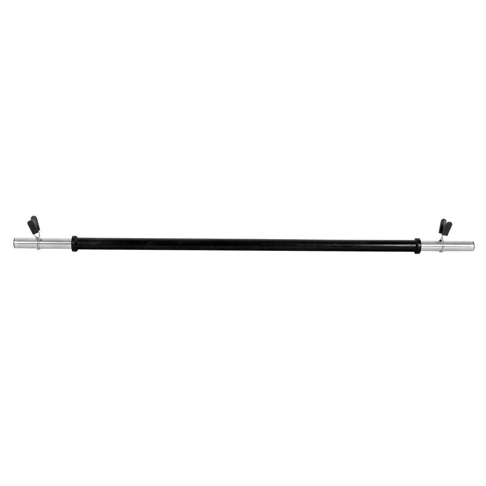 Aeróbna vzpieračská tyč inSPORTline Pump - rovná 130 cm / 25 mm bez závitu