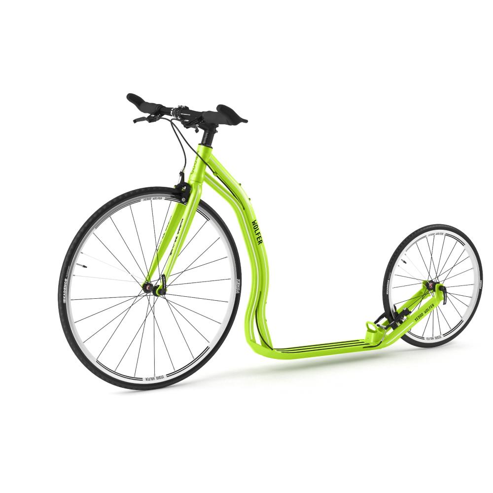 Kolobežka Yedoo Wolfer 2020 Green - Záruka 5 rokov