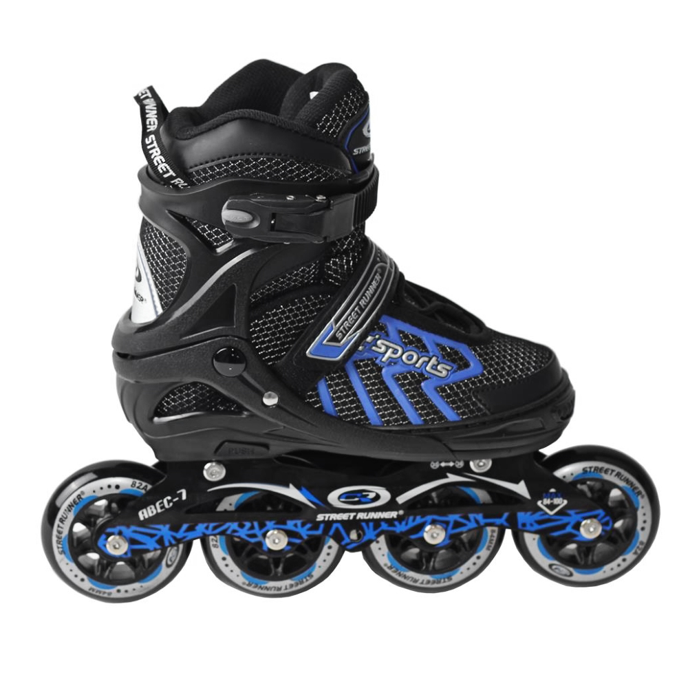Kolieskové korčule Laubr Street Runner 6005 modrá - 39-42