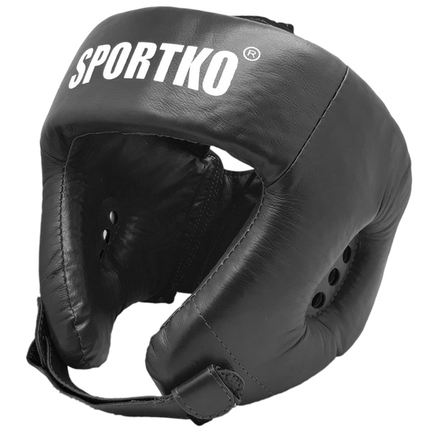 Boxerský chránič hlavy SportKO OK1 čierna - M
