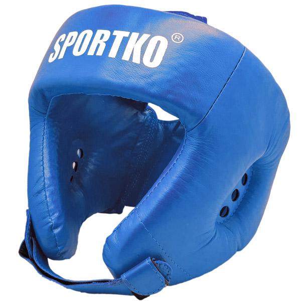 Boxerský chránič hlavy SportKO OK2 modrá - M