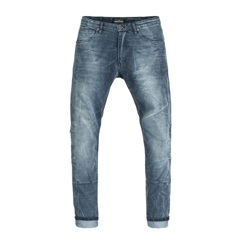 Pánske moto jeansy PANDO MOTO Boss Desert modrá - 33