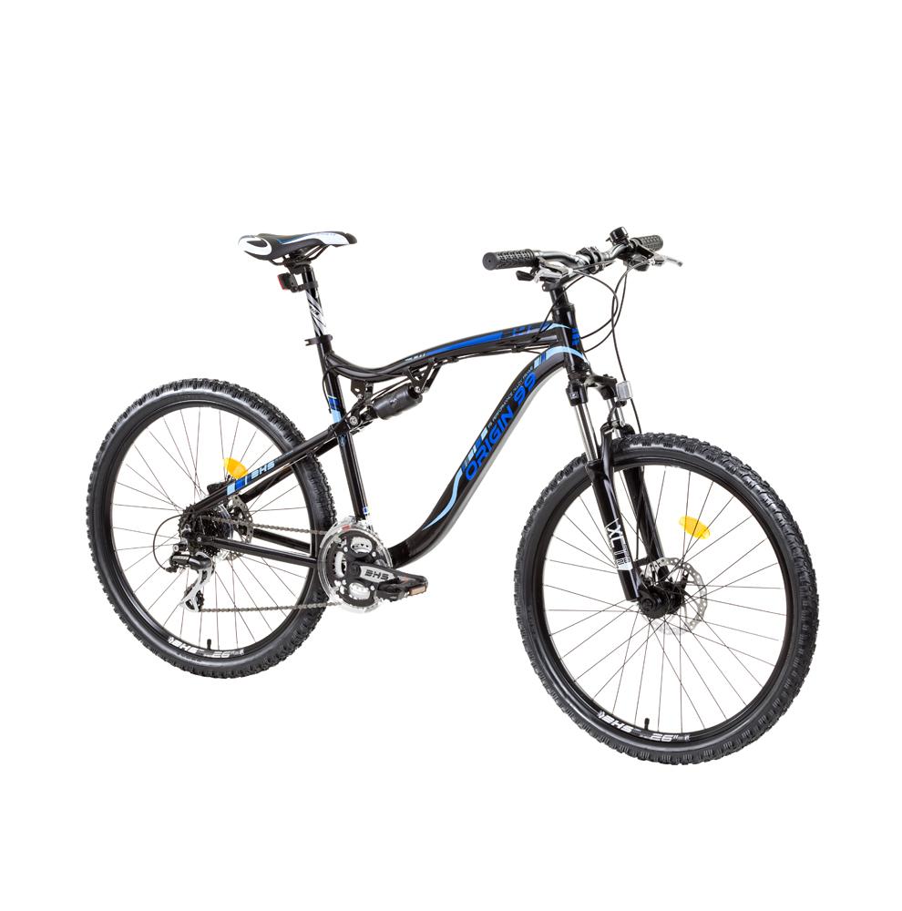 Celoodpružený bicykel DHS Origin99 2649 26