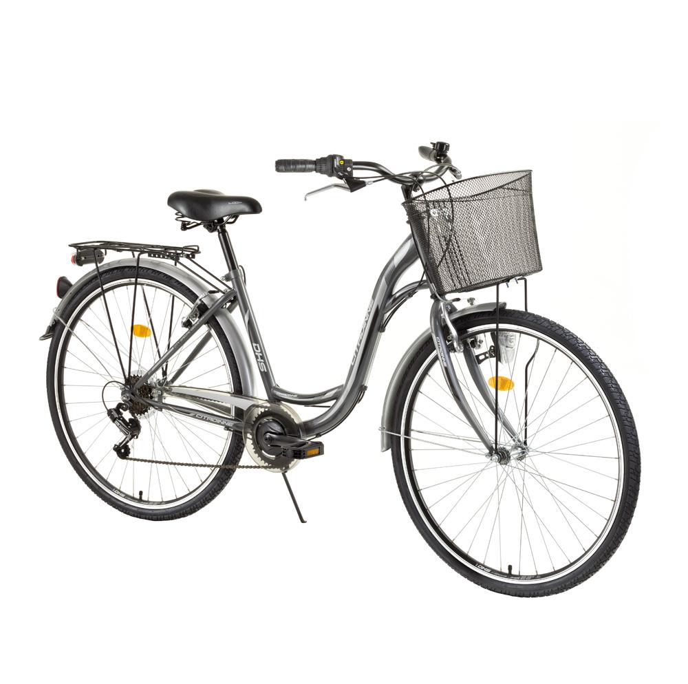 """Mestský bicykel DHS Citadinne 2634 26"""" - model 2015"""