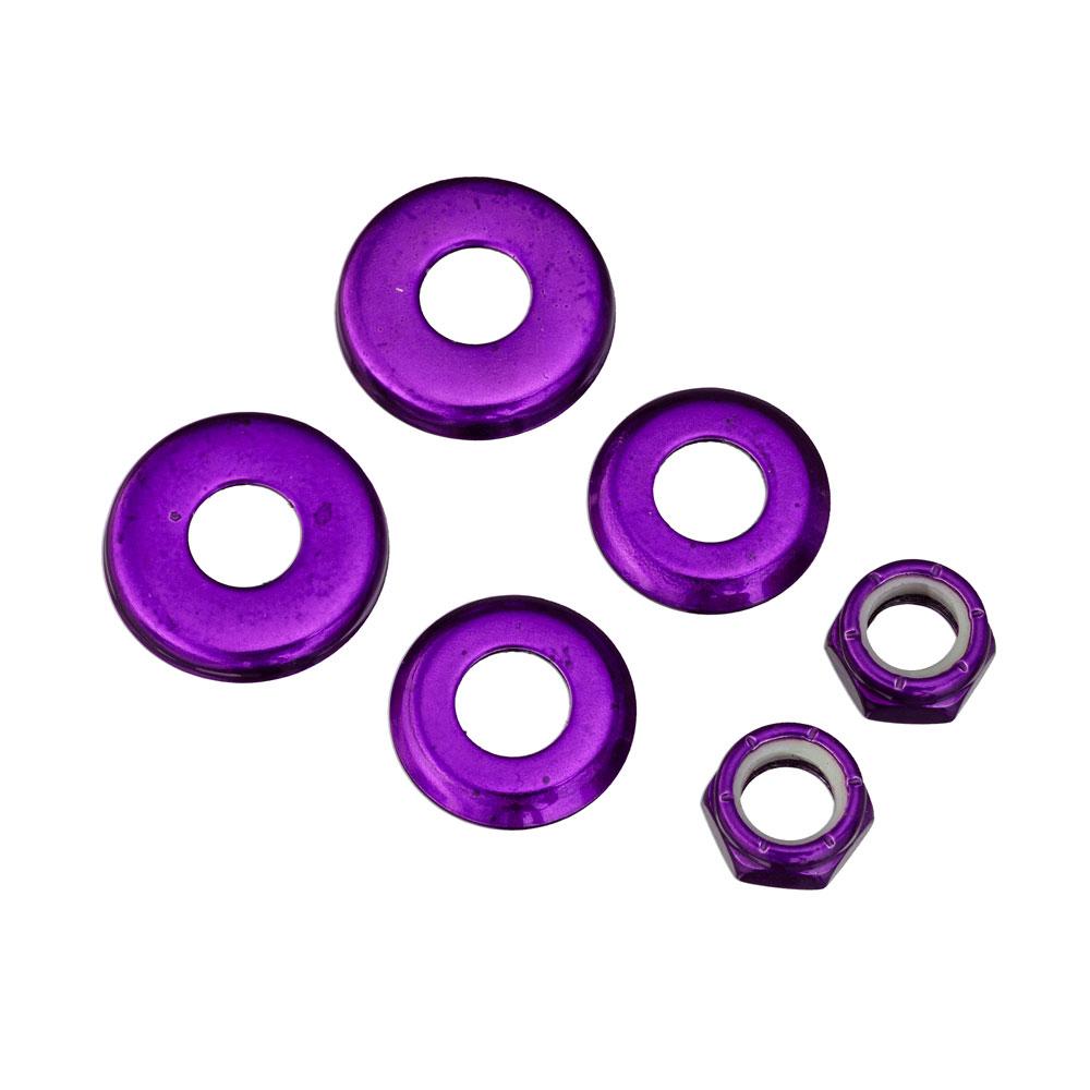Bushing podložky fialová