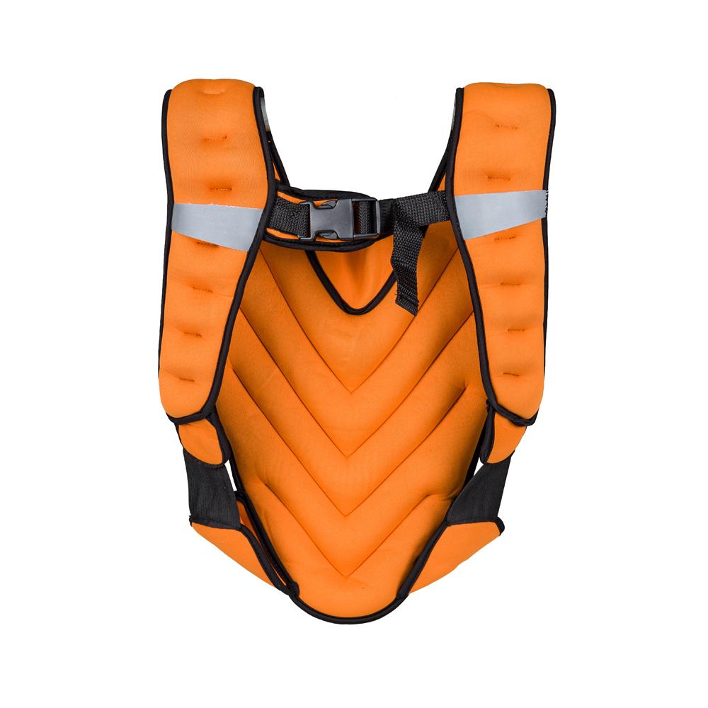 Záťažová vesta inSPORTline Klaper 5 kg oranžová
