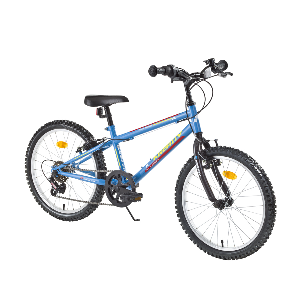 "Detský bicykel Kreativ 2013 20"" - model 2017 blue - Záruka 10 rokov"