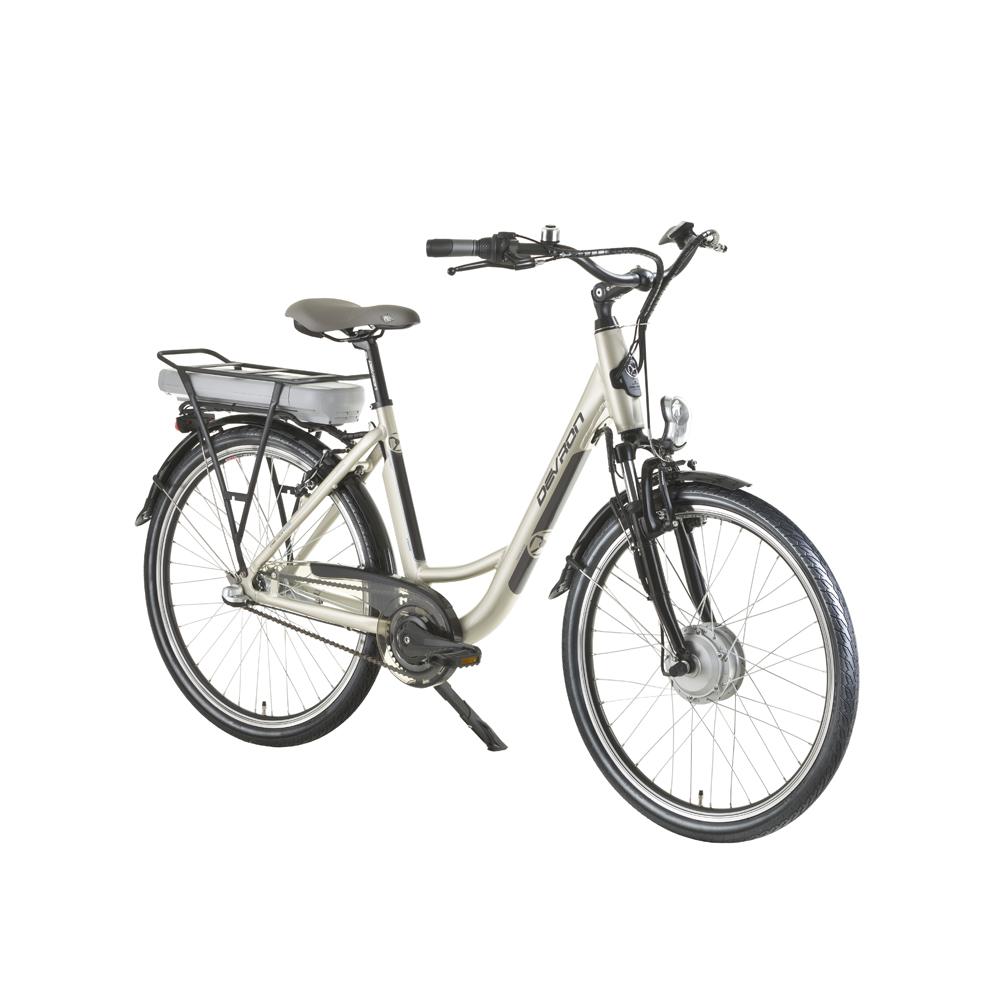 "Elektrobicykel Devron 26120 - model 2016 Sandy Grey - 18"" - Záruka 10 rokov"